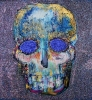 Skull 100 x 100 cm