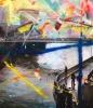 Niederbaum Blues 120 x 140 cm Ed AP 1of2 Hamburg