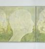 SlowNature I og II Diptyk 180 x 80 cm