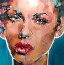 Femme 145 x 145 cm