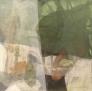 Grønn morgen II 60 x 60 cm