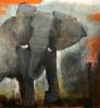 Loxodonta Africana I 120 x 120 cm