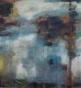 Abstrakt landskap II 150 x 100 cm
