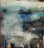 Abstrakt landskap III 150 x 100 cm