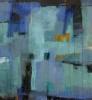 Abstrakt landskap IV 150 x 100 cm