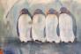 Pingviner 150 x 100 cm