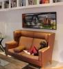 no. 24 Udsmykning i privat hjem 60x130 cm