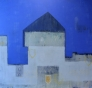 Metaforisk landskap II 135 x 135 cm