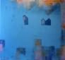 Metaforisk landskap V 135 x 135 cm