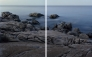 Lido di Orrì Sardinia Diptych 96x60cm Ed3