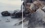 Orosei Gulf Sardinia Diptych 240x150cm Ed3