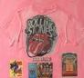 Rolling Stones Pink shirt 80 x 80 cm