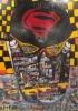 Head of Batman 120 x 180 cm