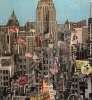 NYC Empire State 120 x 180 cm