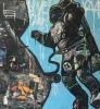 3 Space Cowboy 180 x 110 cm