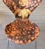 7eren Marylin Monroe Art Chair