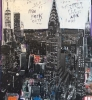 NYC Chrysler Building 145 x 170 cm