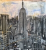 NYC Empire State 170 x 170 cm