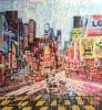 NYC Times Square 160 x 160 cm