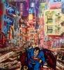 New York Superman 135 x 170 cm