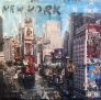 New York Times Square 120 x 120 cm