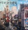 New York Times Square 120 x 120 cm