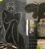 Cafe de flore NATSVERMER 146 x 114 cm