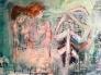 Kærlighedens rejse 150 x 120 cm
