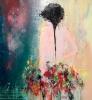 Flower child 120 x 150 cm