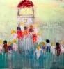 The lighthouse 120 x 120 cm
