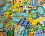 Sophies out 195 x 165 cm