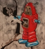 Robot 100 x 150 cm