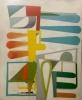 Ribidibidi hvit 122 x 144 cm