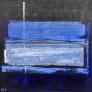 Blå mystisk natt 3 80 x 80 cm
