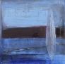 Blå mystisk natt 4 80 x 80 cm
