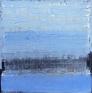 Vinterfrost på elven 120 x 120 cm