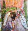 Kvinnene ved graven 150 x 190 cm
