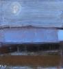 Blå mystisk natt 1 80 x 80 cm