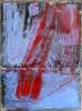 Brytning 100 x 135 cm. Malt på blekkplate