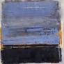 Aftenstemning 60 x 60 cm (blå)