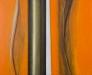 Sipario 160 x 130 cm orange (diptyk)