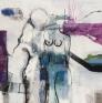 Åse Pleym Bakken - Spring 150 x 150 cm