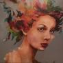 AnnaLou - You colour me 140x140cm