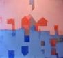 Carina Skaug Kristiansen - Metaforisk landskap VI 135 x 135 cm