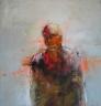 Christophe Hohler-  Le regard 130 x 130 cm