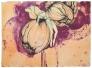 Gro Mukta Holter - Hypnotic Peach Lito tresnitt 94x68cm