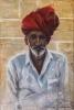 Jeg du møte (ref filosof Buber) 100 x 150 cm