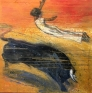 The Leap 150 x 150 cm