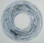 Slow circle 100 x 100 cm