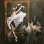 Cranedance 140 x 140 cm